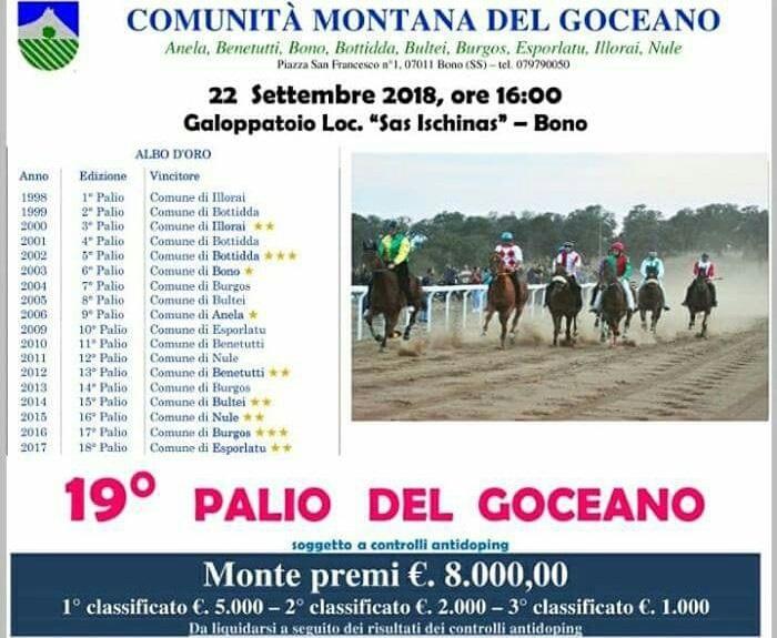 BONO GOCEANO 22 SETTEMBRE 2018