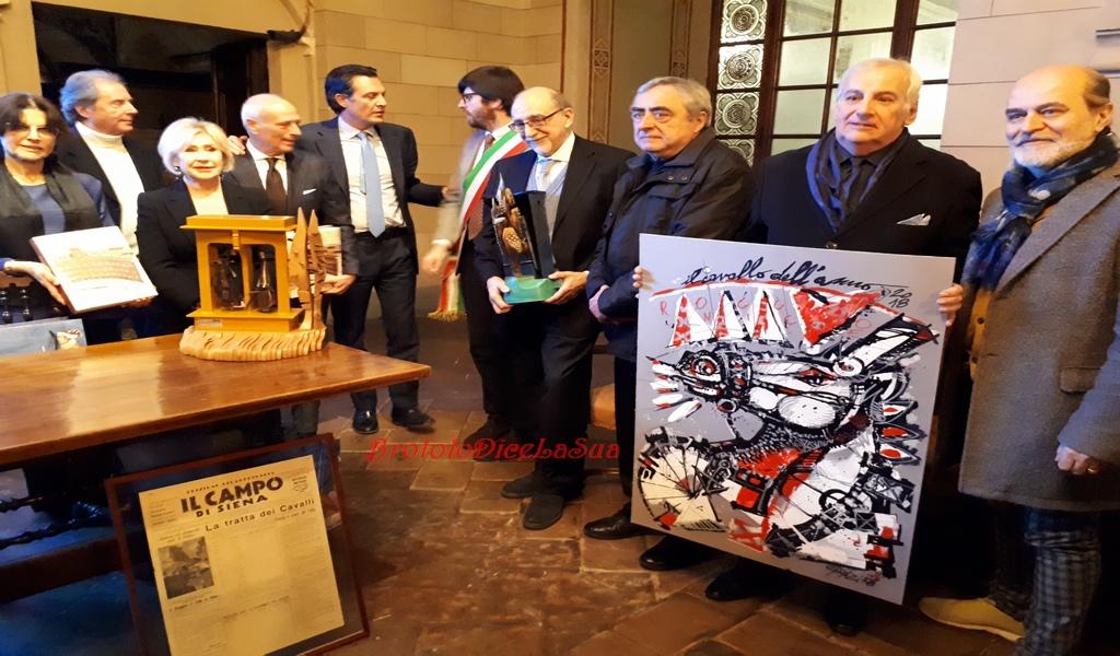 PREMIAZIONE CAVALLO DELL'ANNO 2018