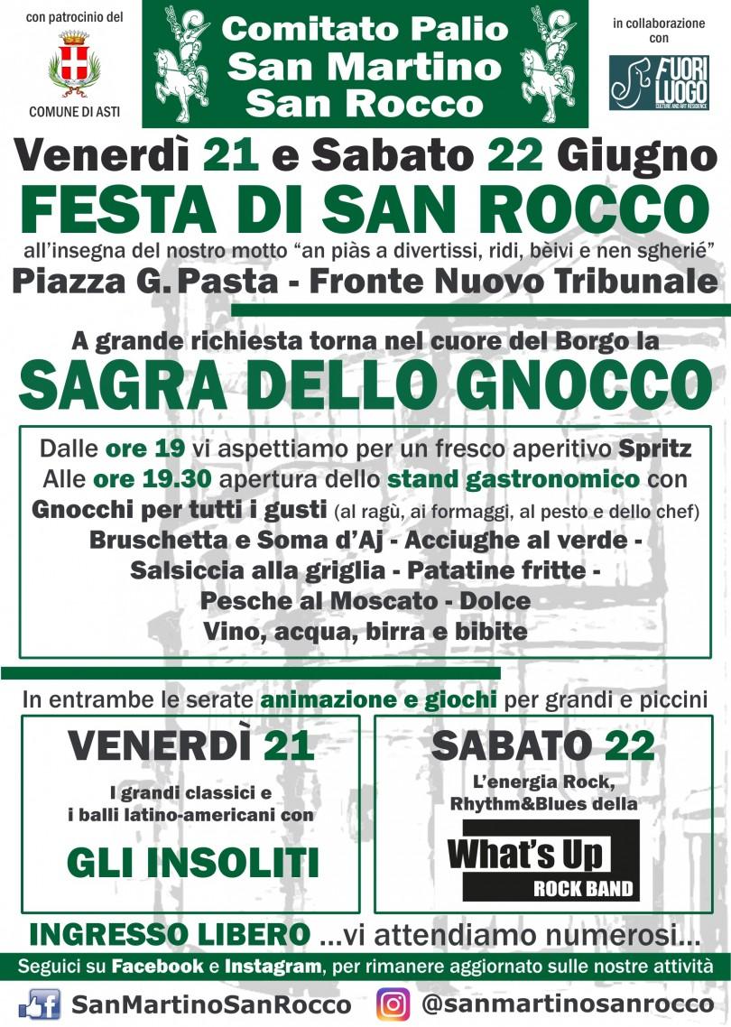 Festa di San Rocco 2019