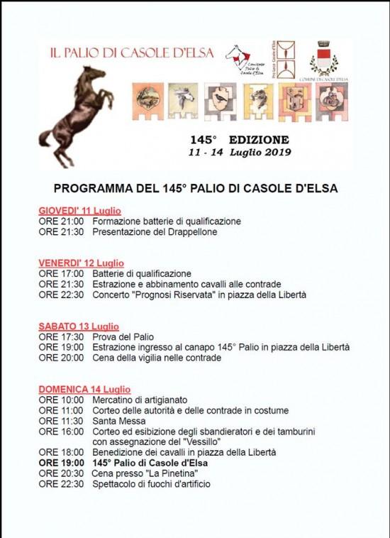 PALIO CASOLE D'ELSA 2019